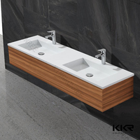 square solid surface vanity top with vessel sink, solid surface bathroom basin furniture, marble square sink & bowl