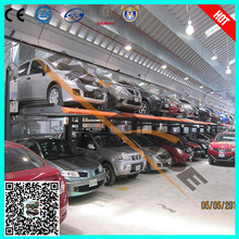 2 post 2 floor mechanic lift intelligent parking system