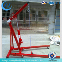 2TON Foldable engine crane/small shop crane for sale
