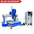 1212 Automatic tool changer atc cnc wooden engraving machine , germany SIEMENS controller wood cutting machine