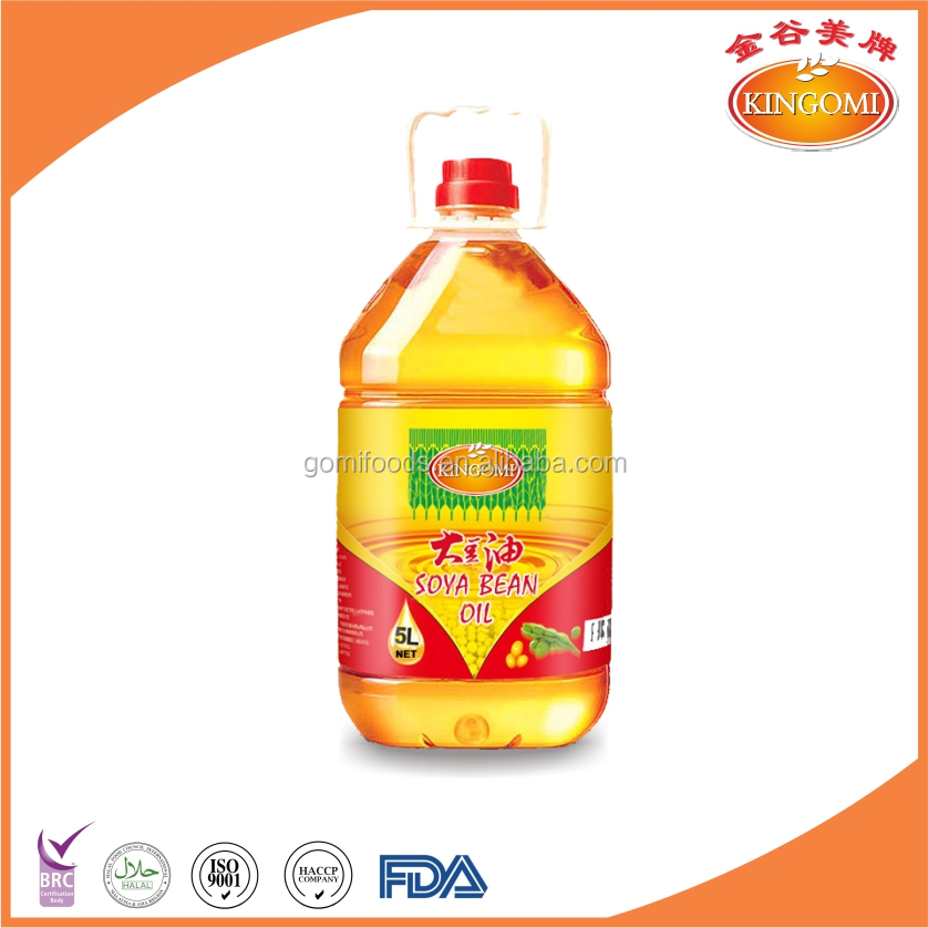 Hot-selling Refined Soya bean Oil 5Ltr Cooking Oil