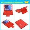 2015 China Red Bluetooth keyboard silicone leather case for ipad air 2