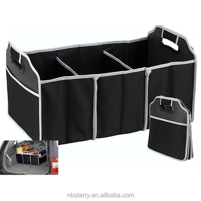 New TV Products Collapsible Car Boot Organizer Trunk Cooler Bag Car organizer