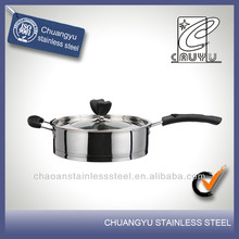 New product stainless steel carbon steel frying pan