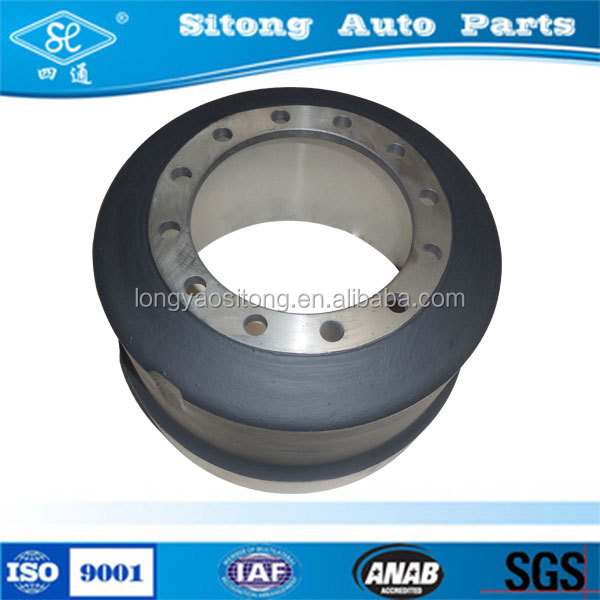 HT250 Material Used Drum Brake 63637 for Heavy Truck