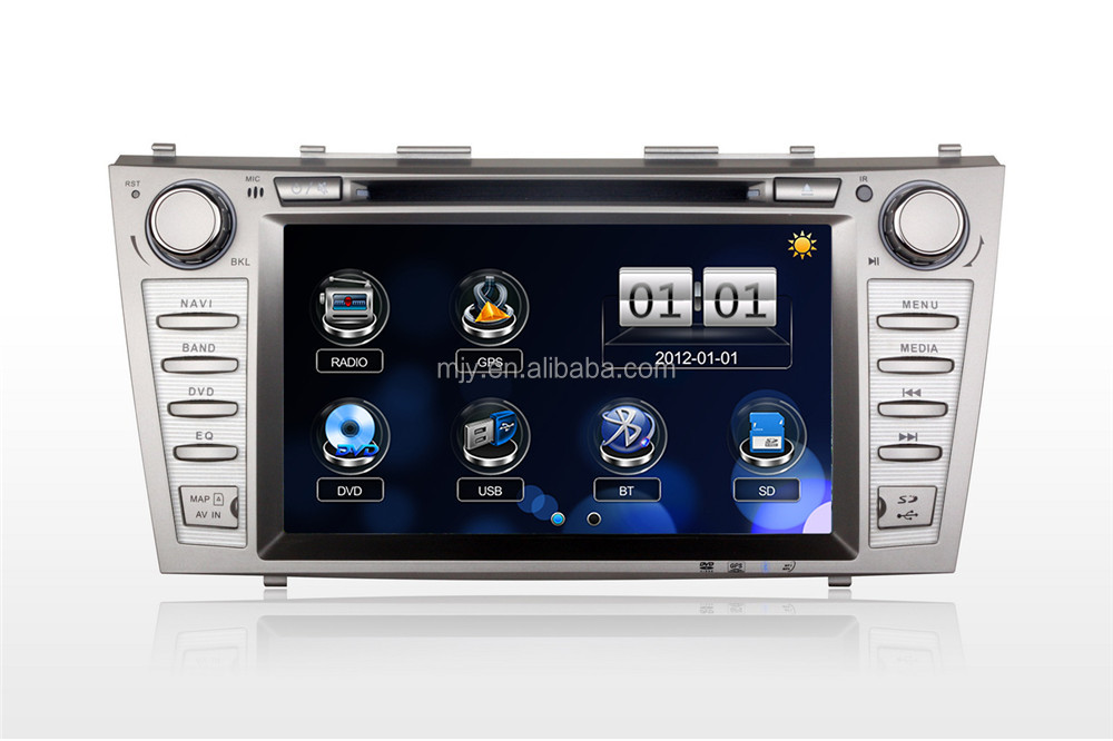 8inch touch screen car gps player for TOYOTA Camry 2009 car gps navigator with bluetooth car dvd gps navigation system