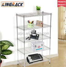 Functional NSF Certificated Metal Wire Storage Rack Shelf