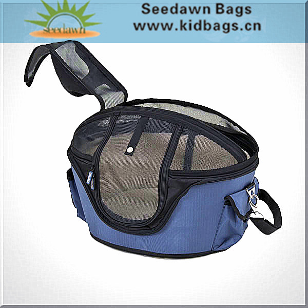 Resin Plastic Mesh Top Lambskin Velvet Lining Pet Carrier Cage Bag with Handle Adjustable Shoulder Sling for Dog Puppy Cat