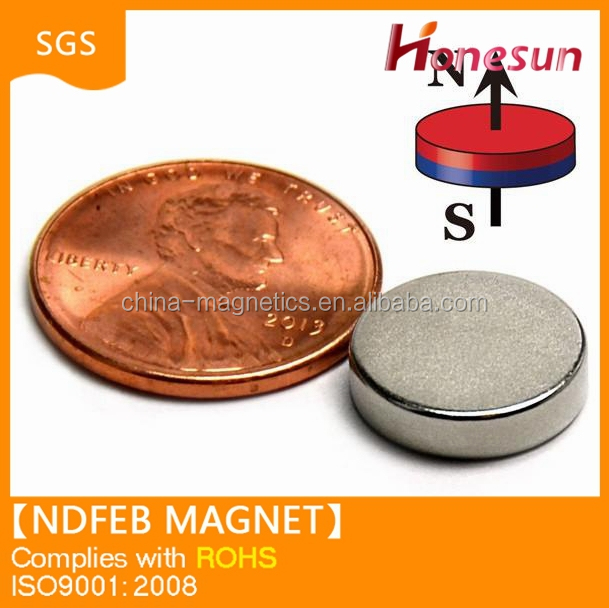 Magnetic material composite strong pulling force bulk neodymium magnet