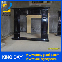 black granite fireplace mantel (Competitive Price)