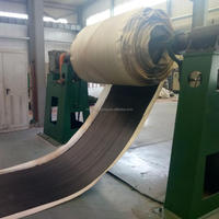 strong tensile strength nylon rubber conveyor belt used for sand pits