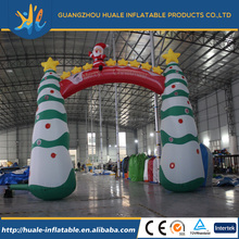 Advertising outdoor christmas inflatable arch for decoration