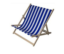 Foldable wooden double deck chair for beach