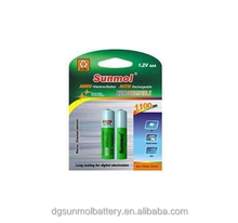 AAA 1.2V NI-MH rechargeable battery 900mah battery