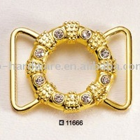 Alloy Rhinestone Chain Belt