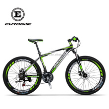 Eurobike bicycle GTR Mountain Bike Aluminum 26 MTB Bicycle 21 Speed Shinano EF-500 Gears Dual Disc Brake