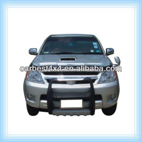 PU GRILLE GUARD FRONT BUMPER BULL BAR FOR TOYOTA HILUX VIGO 05-11