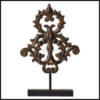 Modern Garden Art Metal Sculptures With Brown Large Metal Sculptures Folk Art Craft Furniture And Home Decoration Pieces