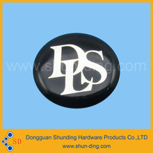 round resin nameplate dls