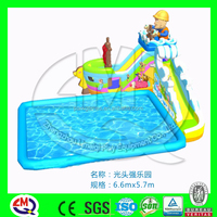 giant inflatable amusement park water parks ride slide