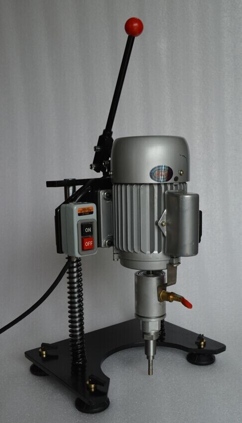 easy control glass processing portable manual glass drilling machine