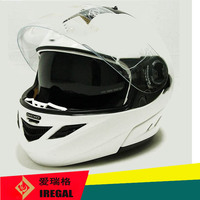ABS material double visor flip up helmet with factory price