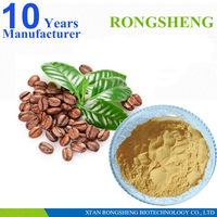 Factory supply green coffee berry extract powder