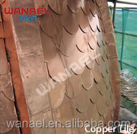 Best quality oem corrugated copper sheet elegant raditional chinese roof tiles for sale