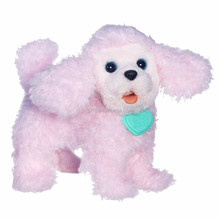 FurReal Friends Walkin Puppies Pretty Poodle Toy Plush/pink color animal dog/custom plush dog toy
