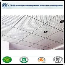 Anti-sagging suspended perforated cement board,acoustic ceiling panel,fiber cement ceiling board
