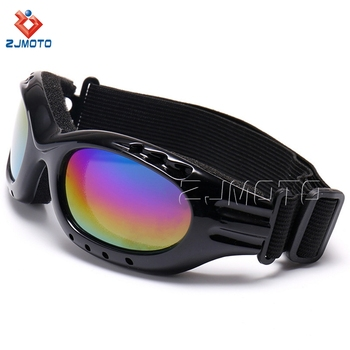 Motorcycle Accessories Iridium Ergonomic Design Racing Ski Goggles Dustproof Laser Eye Protection Goggles