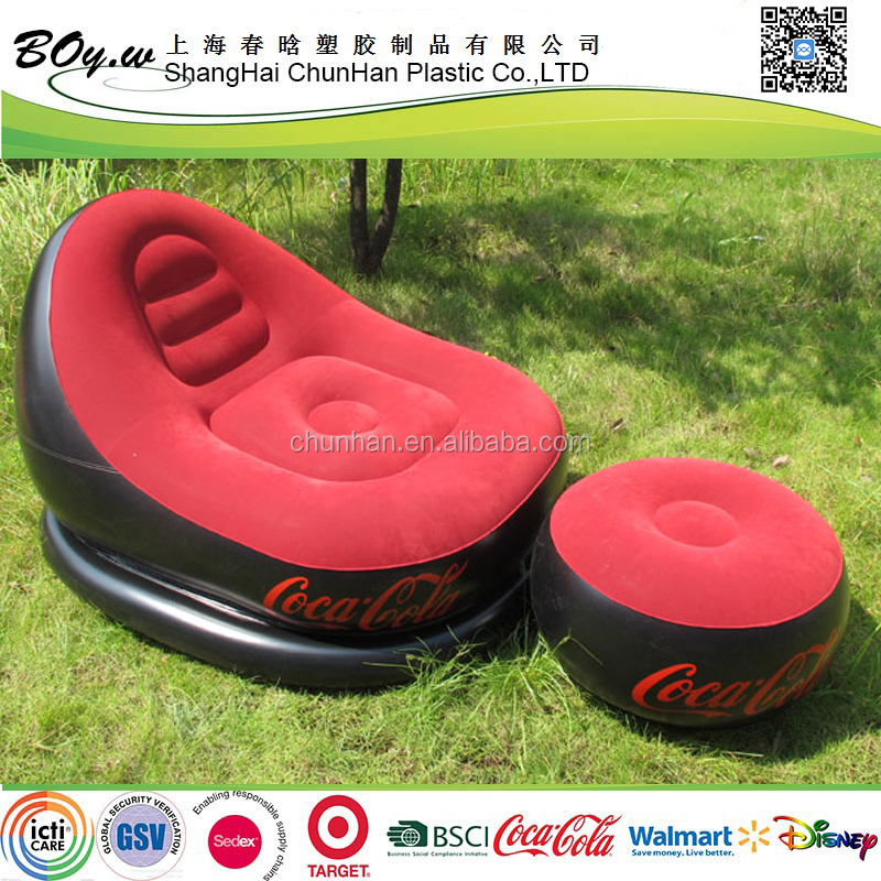EN71 6P inflatable sofa,inflatable beach sofa