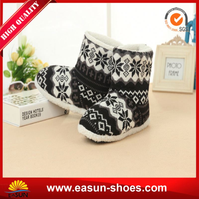 Free sample promotional winter sheepskin boots winter leather boots shoes platform boots