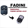 FADINI Astro-43/2T Garage Door/Gate Remote Control Replacement/Duplicator
