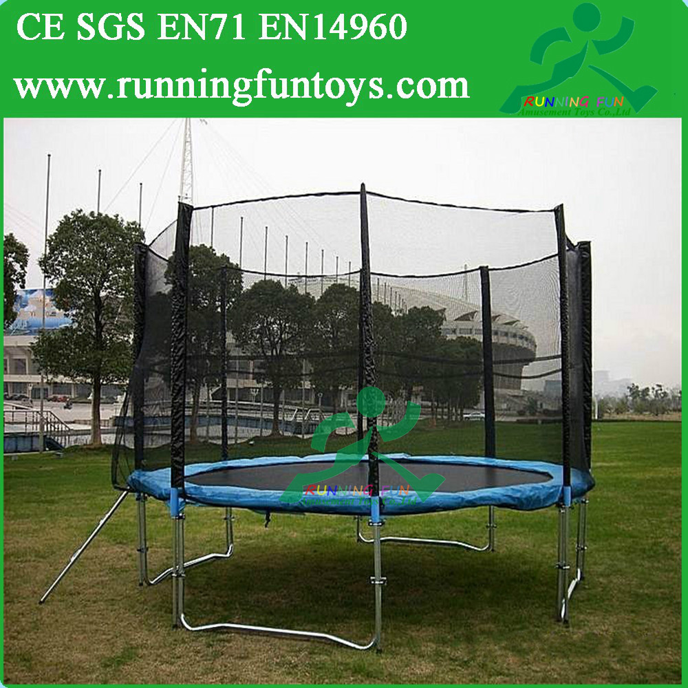 Commercial Used High Jump Trampoline,Single Bungee Jump