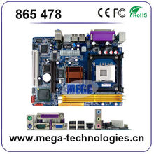 Computer parts mainboard 865 motherboard socket 478