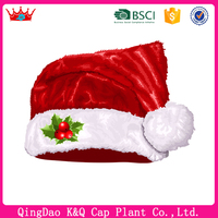 Customized high quality fashionable festival christmas ball ornament caps