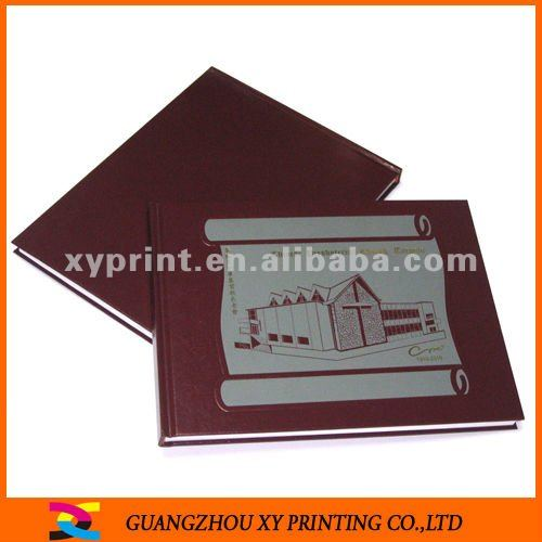 Goffered Paper Hardcover bible Book Printing