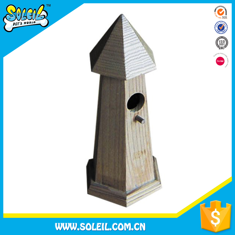 Export Quality Stand Wooden Bird House