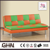 Bedroom furniture fashion mordern style colorful adjustable sofa bed