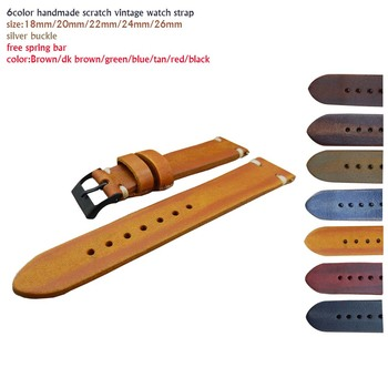 Genuine leather watch strap 18mm 20mm 22mm 24mm 26mm