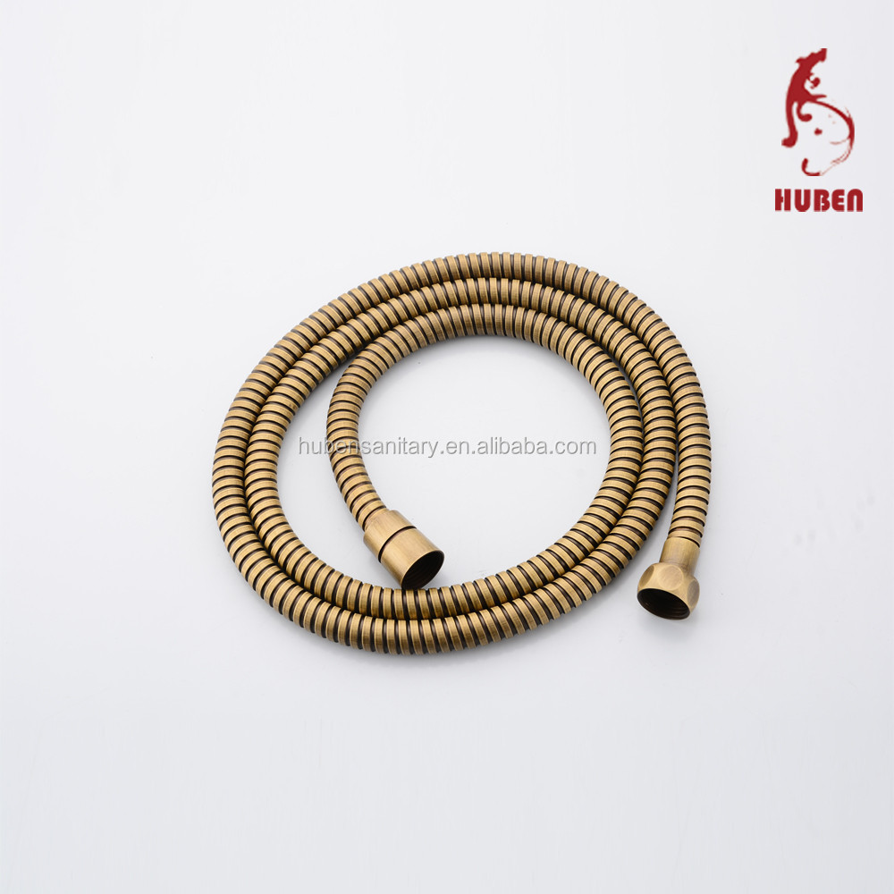 China Supplier stainless steel antique Extensible Shower Hose