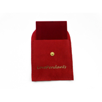 tiny jewelry bags Red velvet gift bag red velvet cheap pouch for jewelry supplier small velvet jewelry bags