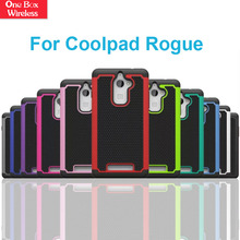 Triple - Layered Defender Hybrid PC + TPU + Silicone Rugged Mobile Phone Cases for Coolpad Rogue