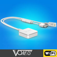 Factory Price VONETS VAR11N RJ45 smallest WiFi router, home plug ethernet bridge