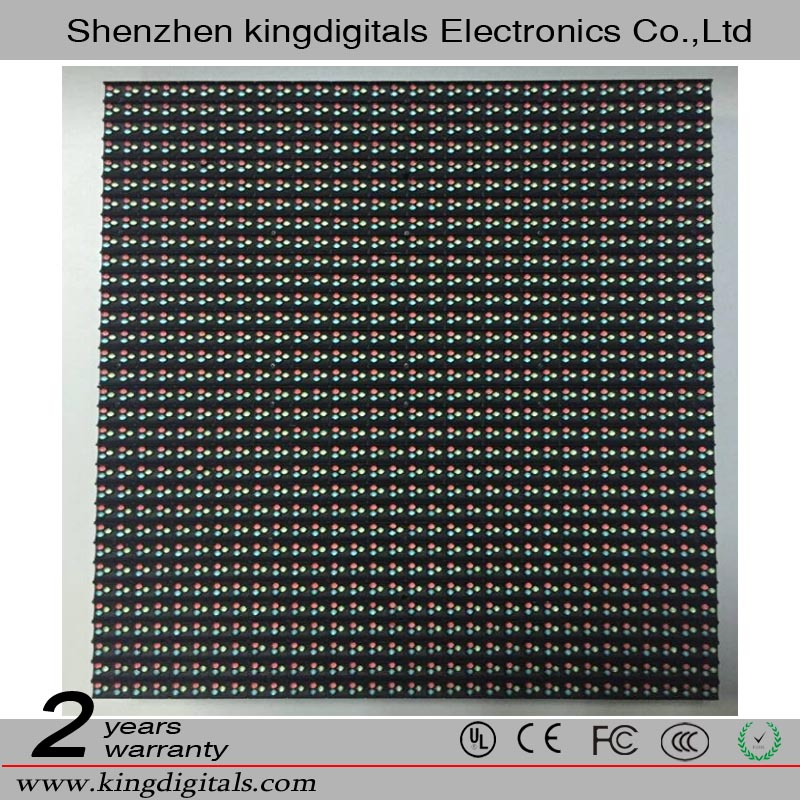KINGDIGITALS 2016 hot sell Outdoor DIP P10 LED Module 320 x 320 mm
