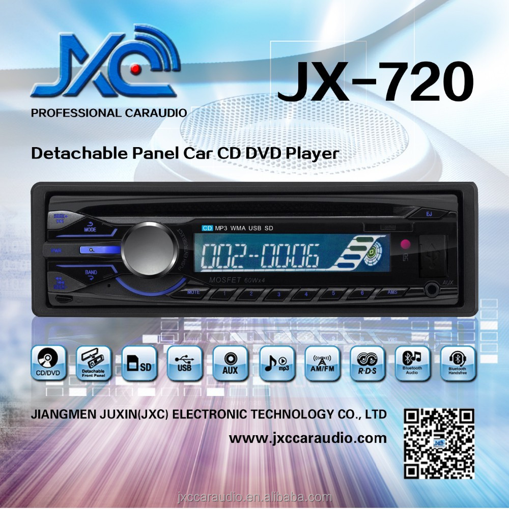 Pioneer style car MP3 CD player with USB/SD