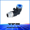 Best selling push in fitting for PU hose and pneumatic cylinder PL0601