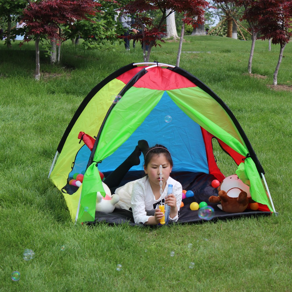 Foldable waterproof camping tent child house of games
