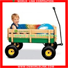 Mobile Moving wood garden children hand cart